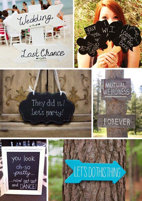 10 Ideias divertidas para o casamento