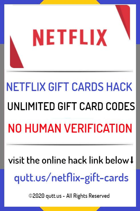 Netflix Gift Card Code Generator Is An Online Tool That Allows You