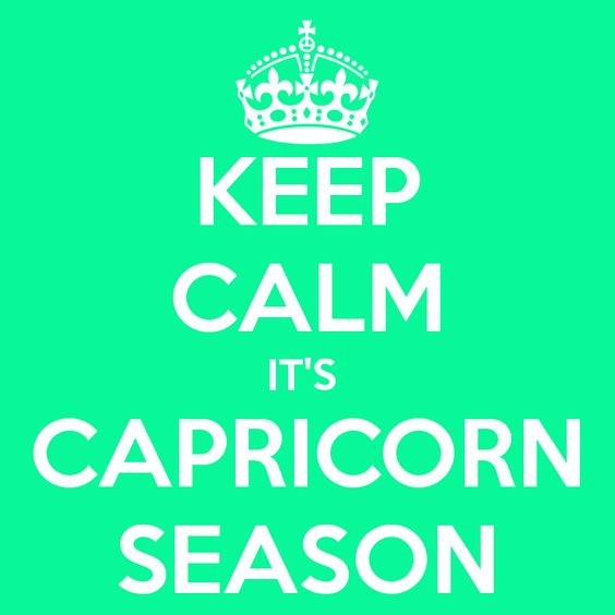 CAPRICORNS ARE AMBITIOUS, HUMOROUS, LOYAL AND WISE INDIVIDUALS OF THE ZODIAC!!!!!!     WITH A SOOTHING VOICE, PLEASANT APPEARANCE AND CONVINCING PERSONALITY, CAPRICORN CAN MAKE ANYTHING HAPPEN!! YES, YES YALL!! WELCOME TO THE SEASON FOLKS.