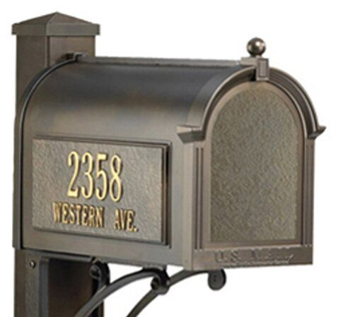 Superior Post Mounted Mailbox Mounted Mailbox Whitehall Products Post Mount