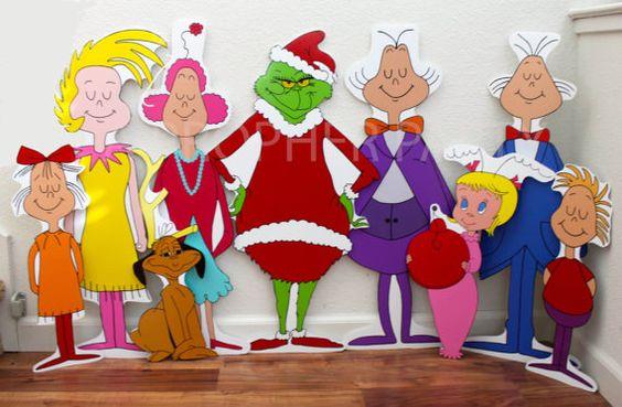 Grinch que robó la Navidad - Whoville - cantantes de Whoville - conjunto…