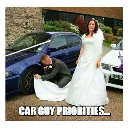 1 Me On My Best Friends Wedding Lol 2 This Guy Is Cleaning The Car Wheels With The Wedding Dress 3 Weddings In Russia 4 Th Car Jokes Car Guys Funny Car Memes