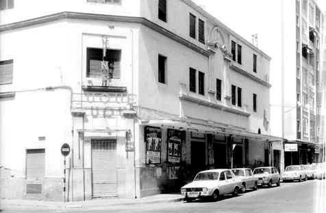Antiguo cine Duque MÁLAGA