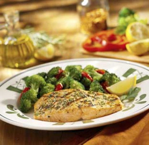 Olive Garden Herb Grilled Salmon Link To Their Gluten Free Menu At