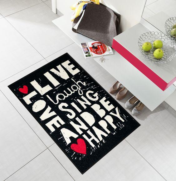 #Doormat Sing and be happy