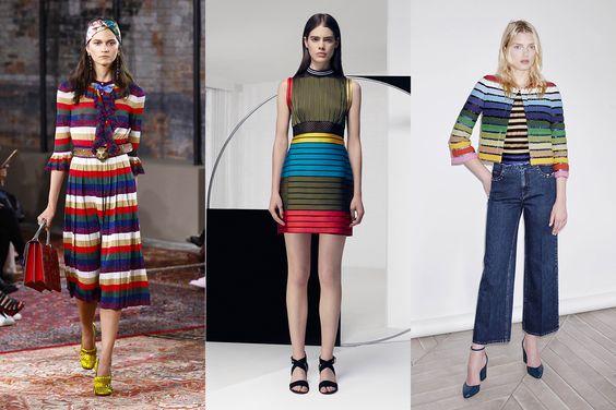 斑斕的彩虹條紋服飾:不同場合的穿搭方式