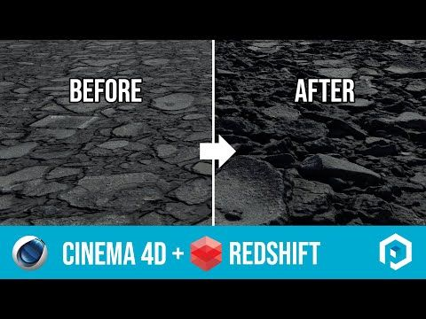 Using Poliigon Displacement Textures In Cinema 4d With Redshift