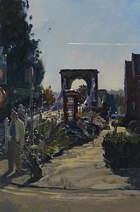"105. Marlow Bridge - Oil - 18"" x 12"""