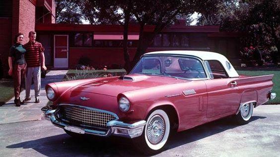 Ford Thunderbird 1957, early bird, first generation.