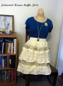 Verdant Bents: Enchanted Dream Ruffle Skirt Tutorial (Made from a sheet and other things)