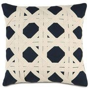 NAVY CANING Pillow