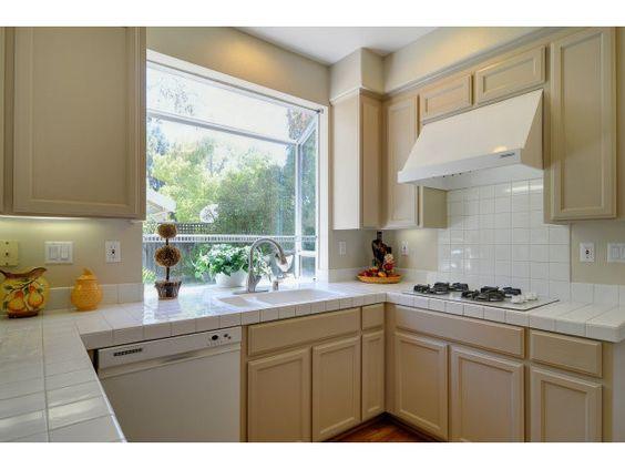 Oak Cabinets Beige Kitchen And Beige Kitchen Cabinets On
