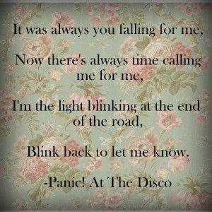 Panic! At the Disco - Always Lyrics | Musixmatch