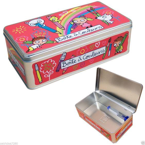 boite de rangement a couleurs stylos crayons pour enfant dlp derriere la porte hija del. Black Bedroom Furniture Sets. Home Design Ideas