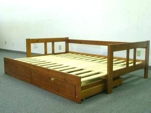Converts To King Daybed Queen Size, Trundle Bed That Converts To Queen