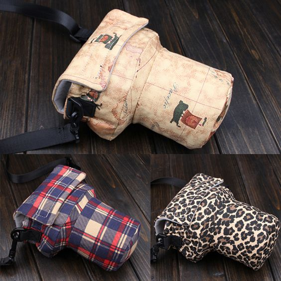 Small Vintage Mens Womens Waterproof Camera Travel Shoulder Pig Bag Insert Case Fit Digital DSLR SLR Canon Nikon Pentax Lens-in Camera/Video Bags from Consumer Electronics on Aliexpress.com   Alibaba Group