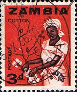 Postage stamps of Zambia 1964 Industries SG 97 Fine Mint Scott 7 Other Zambia Stamps For Sale HERE