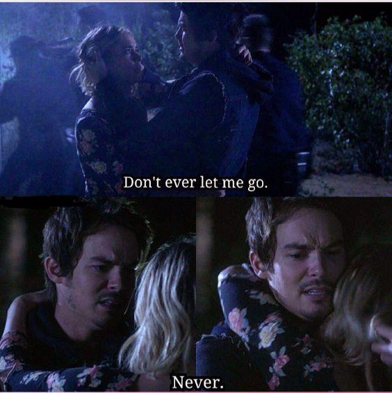 Hanna and Caleb. Pretty Little Liars Season 6 Episode 1 ...