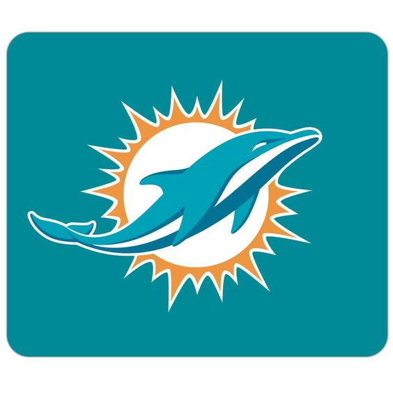 NFL Miami Dolphins Neoprene Mouse Pad, Price: 	$10.23