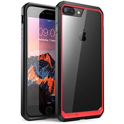 Iphone 8 Plus Hlle Supcase Unicorn Beetle Schutzhlle Premium Case Hybride Transparent Handyhlle Kompatibel Mit Apple Iphone 7 Plus Iphone 8 Plus Rotschwarz Iphone 7 Plus Apple Iphone Iphone 8 Plus