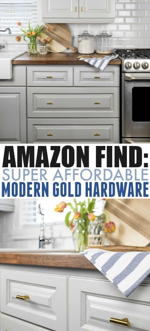 Affordable Gold Kitchen Hardware Updating Our Kitchen The