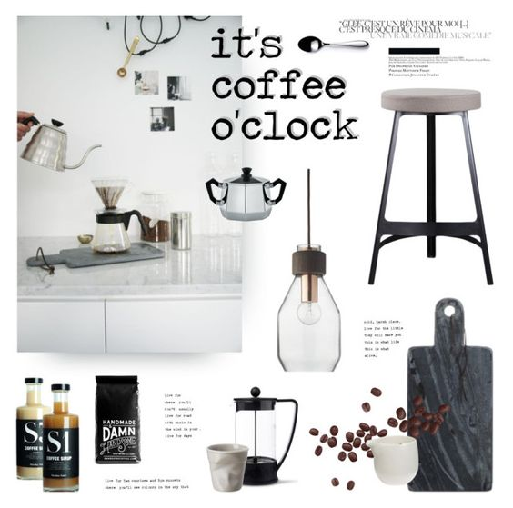 """""""It's Coffe O'Clock"""" by little-bumblebee ❤ liked on Polyvore featuring interior, interiors, interior design, home, home decor, interior decorating, Bodum, Nicolas Vahé, Bloomingville and David Mellor"""