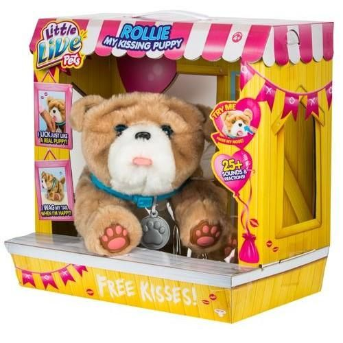 Little Live Pets My Kissing Puppy Rollie Little Live Pets Baby Girl Toys Toy Puppies