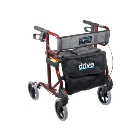 (click twice for updated pricing and more info) Drive Medical Four Wheel Rollators - Diamond Rollator Walker with Mesh Seat and Back #rollators http://www.plainandsimpledeals.com/prod.php?node=35610=Drive_Medical_Four_Wheel_Rollators_-_Diamond_Rollator_Walker_with_Mesh_Seat_and_Back_-_740R