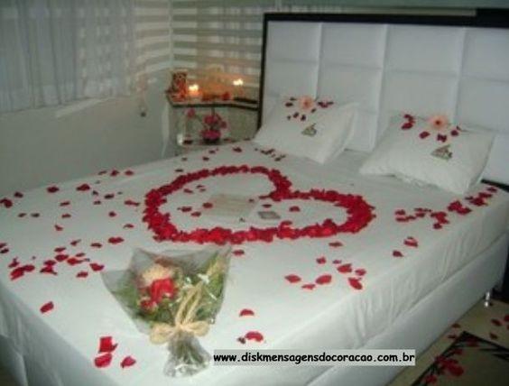 jantar romantico no quarto Pesquisa Google DIA DOS  ~ Quarto Romantico Vintage