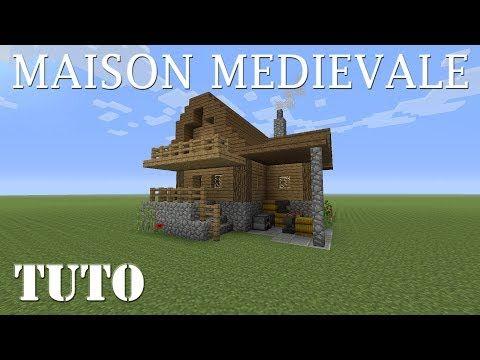 Minecraft Comment Faire Une Maison Medievale Ps4 Youtube