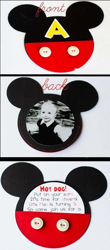 mickey mouse birthday invitations good idea for Nicholas