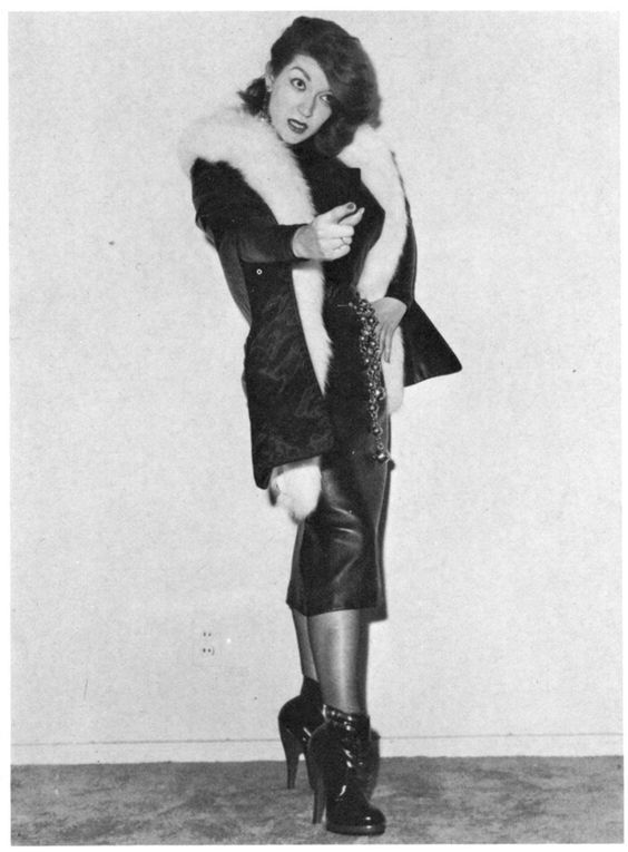 DEVILS IN SKIRTS — Dominant Women. Magazine published in 1964.