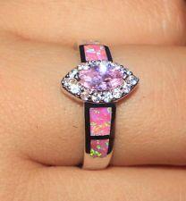 -pink-fire-opal-topaz-cz-ring-gemstone-silver-jewelry-sz-8-engagement-d