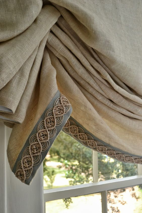 natural linen window treatments and linen fabric on pinterest