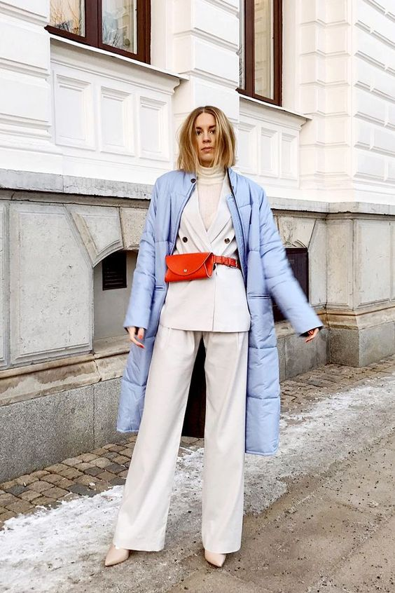 "If you're still hesitant about trying out belt bags for yourself, let these stylish women teach you a lesson in making the ""out-there"" bag wearable."