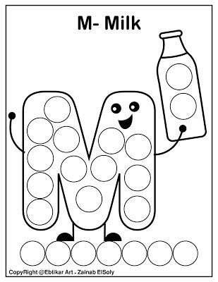 Set Of Abc Dot Marker Coloring Pages Preschool Alphabet Printables Free Preschool Printables Alphabet Preschool Letters Printables
