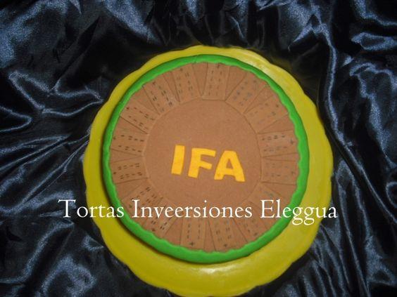 torta de orula IFA para babalawos