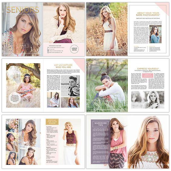 Photography Magazine Template | Senior Year | Photography magazine ...