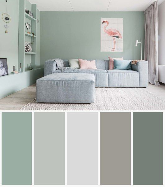 19 Wonder Photos With Relaxing Interior Color Palettes