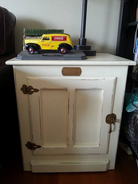 White Clad Ice Box White Clad End Table Pinterest Kick Plate The O 39 Jays And The White