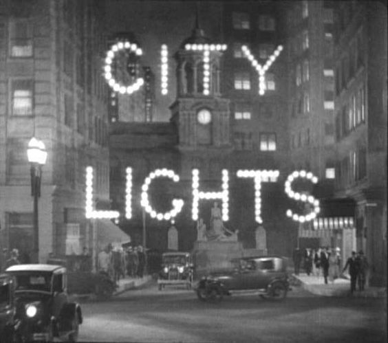 CITY LIGHTS  (1931)  directed by Charles Chaplin