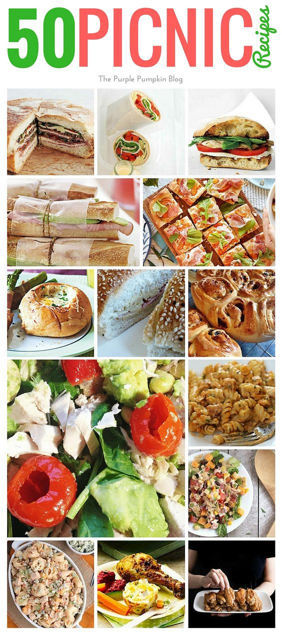 50 Delicious Picnic Recipes That Aren't Boring Sandwiches!