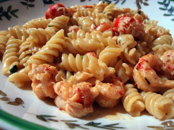 Jazz Fest Crawfish, or Crawfish Monica Copycat   A Couple In The Kitchen