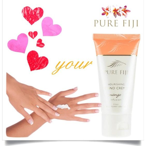 """Did you know that Pure Fiji has a new hand cream? Have you tried it yet? If you have - tell us what you thought!  Your hands are your most used body part and can become dry and quickly, so it's vital to pay regular attention to them. You should apply a quality hand cream after each time you wash your hands.  This can prevent your hands from cracking and also inhibit wrinkles and discoloration.  Plus - with four exotic drift nut oils, Pure Fiji's new hand cream will nourish and strengthen…"