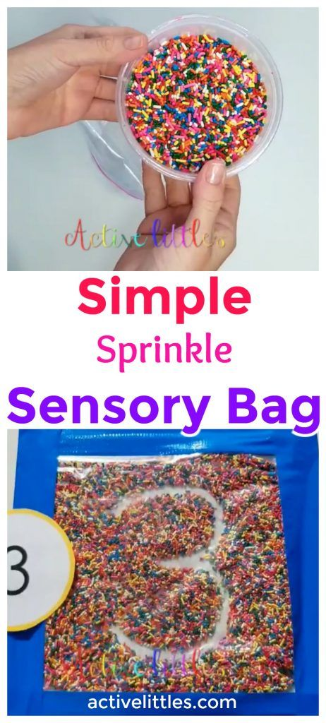 This fun, colorful sensory bag gives preschoolers a great surface for practicing their letter writing. Keep learning fresh and exciting with this awesome collection of letter activities for preschool! #howweelearn #abc #alphabet #alphabetactivities #letters #lettersounds #preschool