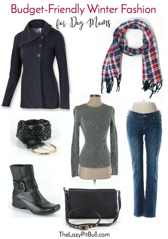 ThredUp: Budget-Friendly Winter Fashion for Dog Moms | http://www.thelazypitbull.com/thredup-winter-fashions-for-dog-moms/