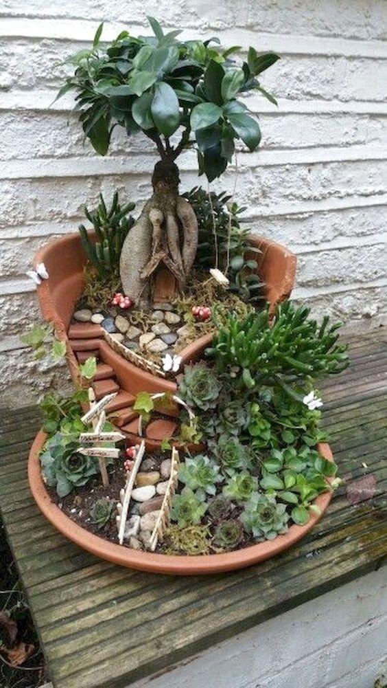 40 Georgeus Indoor Fairy Garden Ideas