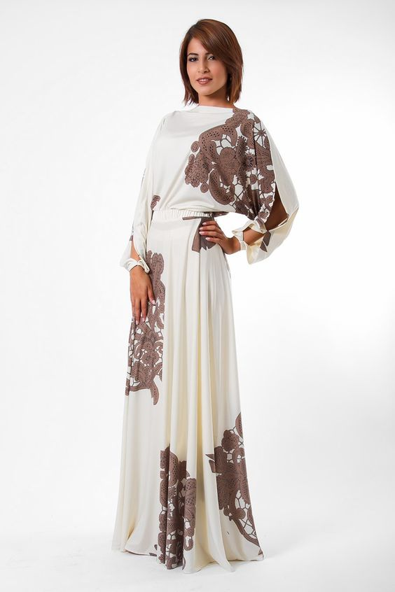 I bought this :) Julea Domani Beige and Brown Maxi Dress ...