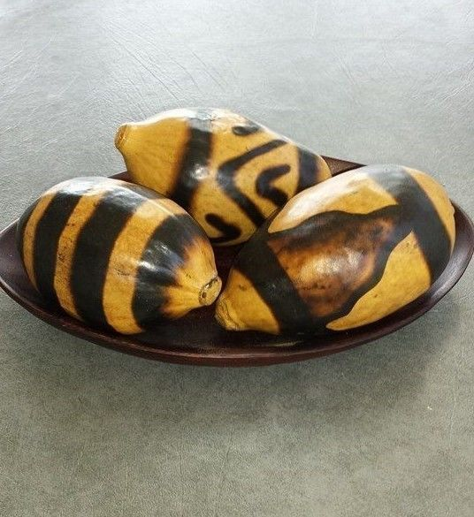 estate auction set of three gourd rattles from Africa