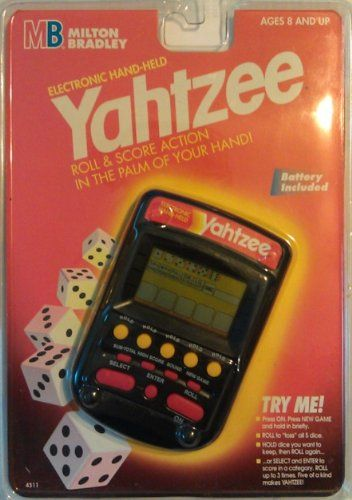 Yahtzee Handheld Electronic Game (1995)